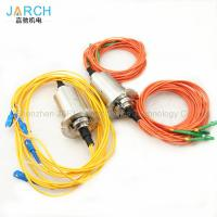 Fiber Optic rotary joint / FORJ with 2 channel for photoelectric theodolite Manufactures