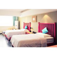 Buy cheap Simple Hotel Bedroom Furniture Sets Two Beds For Studio Apartment from wholesalers