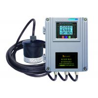Ultrasonic Open Channel Ultrasonic Flow Meters / Ultrasonic Water Meter For Sewage Treatment Plant STP 200m3/H Manufactures
