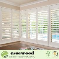 Z Frame 2.5 Inch High Quality Wooden Plantation Shutters Manufactures