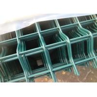 Security Triangle Weld Mesh Fence Panels 60X100 MM With 5 Mm Diameter Manufactures