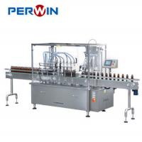Quality Pharmaceutical Syrup Bottle Filling Capping Labeling Machine PW-HGSX422 for sale