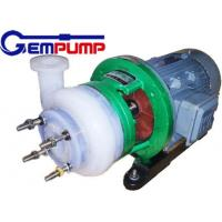 Fluorine Chemical Centrifugal Pump for pesticides / Dye industry pumps Manufactures