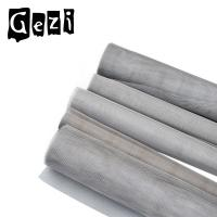 Quality Acid Alkali Resistant Stainless Steel Mesh 500 Mesh ISO 9000 Woven for sale