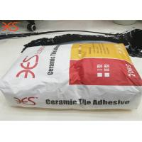 Grey Floor Tile Adhesive With RDP , Natural Stone Tile Adhesive Heat Resistant Manufactures
