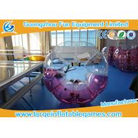 Popular Size 1.2m / 1.5m /1.8m TPU Inflatable Bubble Football / Soccer For Fun Games Manufactures