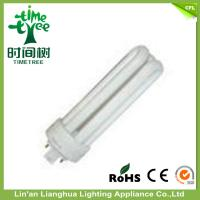 High Brightness 3U Shaped Fluorescent 5000k Light Bulbs 13w Triband Color Manufactures