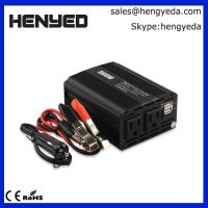 12V TO 110V CAR CIGARETTE LIGHTER POWER CONVERTER INVERTER 300W WITH USB CAR CHARGER Manufactures