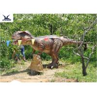Outside Realistic Giant Dinosaur Statue For Jurassic Dinosaur World Decoration Manufactures