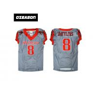 Quality Factory price new design youth fast drying american football jersey, soccer uniform for sale