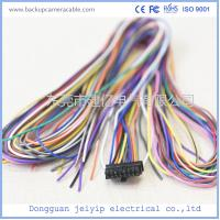 Buy cheap ROHS 12-24V Colorful Wire Backup Camera Cable 16 Pin Terminal Connector from wholesalers