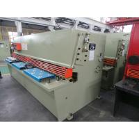 electrical Metal Cutting Machine for metal Sheet , CNC Hydraulic Guillotine Manufactures