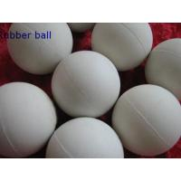Low Temprature Resistant HNBR Solid Industrial Ball , Rubber Medicine Ball Manufactures