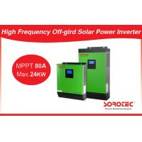 China Overload Protection Mini 24Vdc Solar Power Inverters 2400W 3000VA 48V on sale