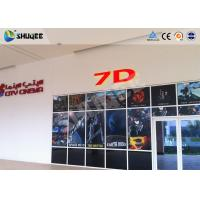 Attractive 7D Movie Theater 7D Cinema Equipment / Simulator System For Shooting Game Manufactures