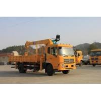 1T 16T straight arm lorry-mounted crane truck crane sell Manufactures