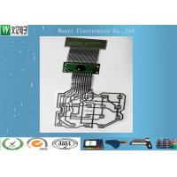 Customized PET Flex Circuit Cable 14 Pin Connector Three Layers Two Sides ESD Shield Layer Manufactures
