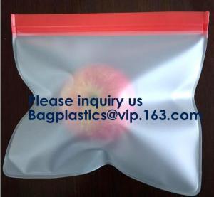 Vaccum Bag For Food Stasher Reusable Silicone Food Bag Peva Bag Food Storage Snack Food Packaging Bag BAGEASE BAGPLASTIC Manufactures