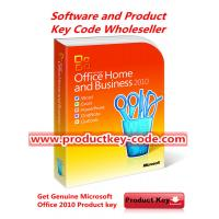 Promotion Microsoft Office 2010 Product Key, Home and Business 2010 Product Key Genuine FPP ESD Code Manufactures