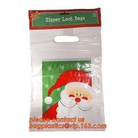 Christmas Designs Gift Bags Plastic Poly Bag Jumbo/Giant/XLarge with Tag,giant plastic christmas gift bags for big gifts Manufactures