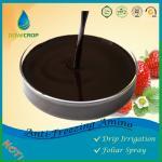 DOWCROP Hot Sale  High Quality Amino Acid fertilizer Dark Brown Liquid 100% Organic fertilizer PLANT ORIGINAL AMINO ACID Manufactures