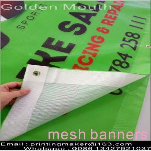 9*9 Full Color Pvc Mesh Banner Printing Manufactures