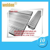 Anti-odour Rectangular Channel Shower Drain Stainless Steel Linear Manufactures