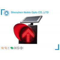 Solar Arrow Flashing Led Warning Lights , Vehicle Warning Sign Manufactures