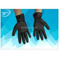 100%  Industrial Exam Grade Medical Disposable Gloves , Nitrile Gloves Food Safe Manufactures