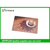 Buy cheap Customized Color / Size Restaurant Table Mats , Square Table Placemats PP Material from wholesalers