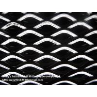 Mild Steel Expanded metal mesh /Iron black expanded metal sheet for sale