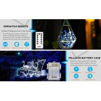 Home Starry LED String Lights Battery Powered Cool White 3.7V Voltage Manufactures