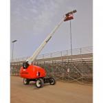 80Feet / 25 Meter Telescoping Boom Crane 350KG  ISO / Gost Certification Manufactures