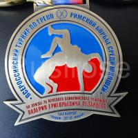 Personality metal medals custom, club competition honor medal custom, sports athletic badge medal production Manufactures