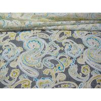 China Colored Printed Polyester Lace Fabric Cotton Mesh Burnout Lace of Eco-dyeing Technics(CY-DK0042) on sale