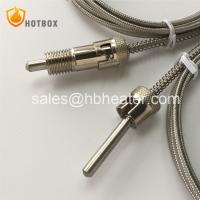 K J E T type thermocouple for injection moulding machine molding machine power station extruder Manufactures