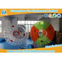 Colorful Professional Inflatable Water Roller For Outside Pool Toys 2.7 * 2.4 * 1.8m Manufactures
