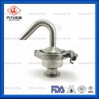 SUS304   SUS316L Sanitary Pressure Relief Valve  Stainless Steel Air Release Valve Manufactures