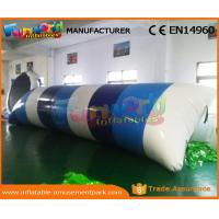 0.9mm PVC Tarpaulin Inflatable Water Trampoline Inflatable Jumping Pillow Manufactures