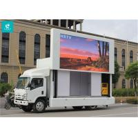 China Light Weight Truck Mounted LED Display , High Level Anti - Shake Mobile Led Screens on sale