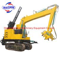 Electrical Installing Hydraulic Digging Electric Concrete Pole Making Machine Manufactures