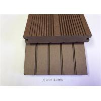 PVC / PE / Wood Plastic Composite Flooring Customized Length And Width For House Manufactures