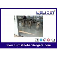 Professional Metro / Subway Turnstile Barrier Gate with 304 Stainless Steel Housing