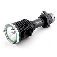 Y70 High bright rechargeable diving flashlight with lifesaving hammer and seat belt cutter Manufactures