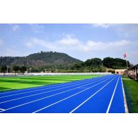 Odorless Running Track Surface Material Anti UV Water Vapor Resistant Manufactures