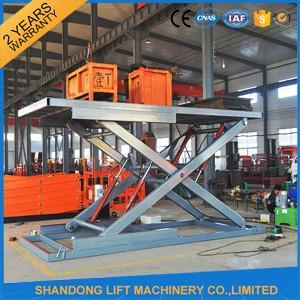 China Hydraulic Home Garage Car Scissor Lift,  Automotive Vehicle Scissor Lift OEM on sale