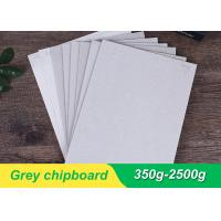 Both Side Grey Chipboard Paper Laminated Chipboard Sheets Folding Resistance Manufactures