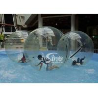 Clear PVC and TPU inflatable water ball walking on water for kids and adults pool parties Manufactures