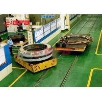 Rubber Wheels Battery Powered Carts Industrial , Self Driven Motorised Trolleys Carts For Port Transportation Manufactures