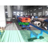 PVC Conduit Double Wall Corrugated Pipe Extruder Machine SJ-120 / SJ-90 Manufactures